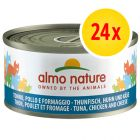 Lot Almo Nature 24 x 70g