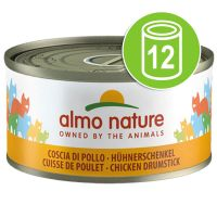 Lot Almo Nature 12 x 70 g pour chat