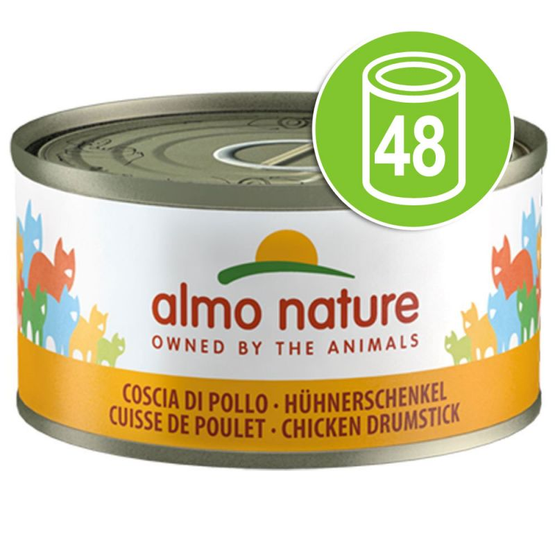 Lot Almo Nature 48 x 70g pour chat