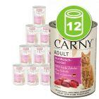 Lot Animonda Carny Adult 12 x 400 g pour chat