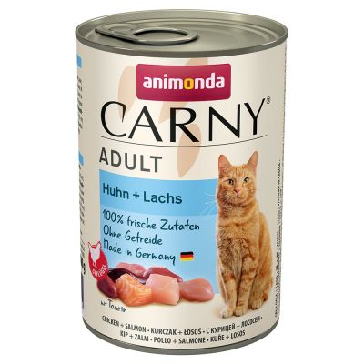 Lot Animonda Carny Adult 12 x 400 g pour chat