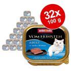 Lot Animonda vom Feinsten Adult 32 x 100 g pour chat