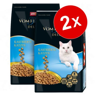 Lot Animonda vom Feinsten Deluxe 2 x 10 kg pour chat