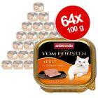 Lot Animonda vom Feinsten 64 x 100 g pour chat