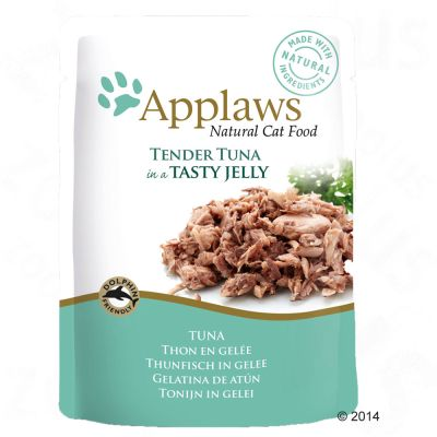 Lot Applaws en gelée 32 x 70 g, sachets pour chat