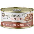 Lot Applaws Senior ne gelée 24 x 70 g pour chat