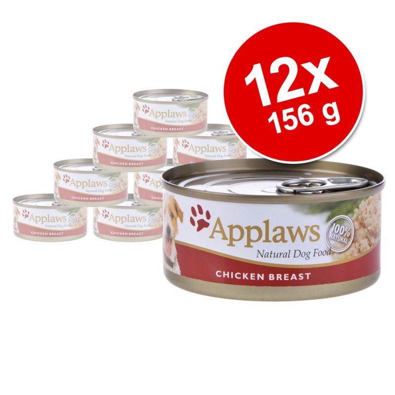 Lot Applaws 12 x 156g pour chien
