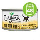 Lot Beyond Mousse Sans céréales 48 x 85 g pour chat