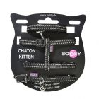 Lot Bobby Kitten Safe, noir pour chaton