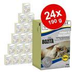 Lot Bozita Bouchées en gelée 24 x 190 g pour chat