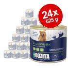Lot Bozita Paté 24 x 625 g pour chien