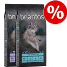 Lot Briantos SANS CÉRÉALES 2 x 12 kg pour chien