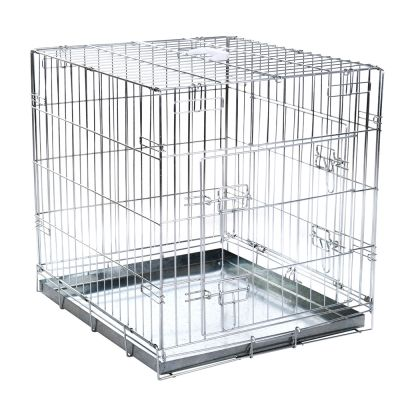 Lot : cage de transport Double Door + tapis absorbants Savic Puppy Trainer pour chien