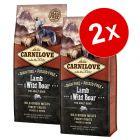 Lot Carnilove 2 x 12 kg pour chien