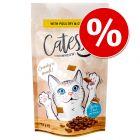 Lot Catessy Friandises fourrées 5 x 65 g pour chat