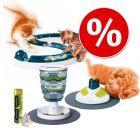 Lot Catit : jouets + friandises pour chat