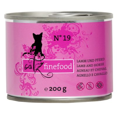 Lot catz finefood 24 x 200 g pour chat