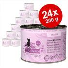 Lot catz finefood 24 x 200 g pour chat