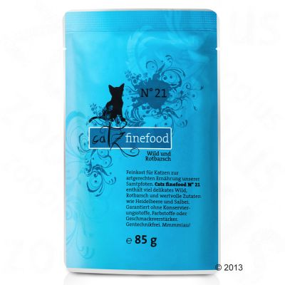Lot catz finefood 16 x 85 g pour chat