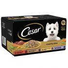 Lot Cesar Slow Cooked 8 x 150 g pour chien