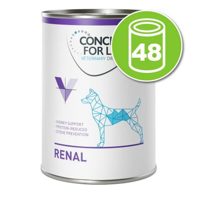 Lot Concept for Life Veterinary 48 x 400 g pour chien