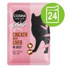 Lot Cosma Asia 24 x 100 g pour chat