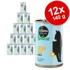 Lot Cosma Nature 12 x 140 g pour chat