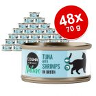 Lot Cosma Nature 48 x 70 g pour chat
