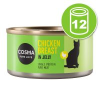 Lot Cosma Original en gelée 12 x 170 g pour chat