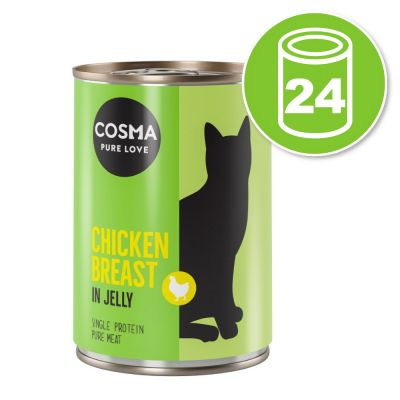 Lot Cosma Original en gelée 24 x 400 g pour chat