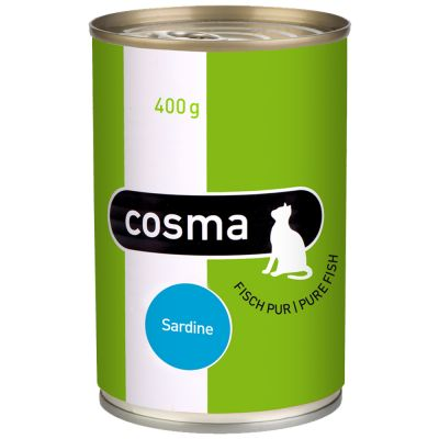 Lot Cosma Original & Thai 24 x 400 g pour chat