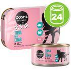 Lot Cosma Thai/Asia en gelée 24 x 170 g pour chat