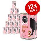 Lot Cosma Thai/Asia en gelée 12 x 400 g pour chat