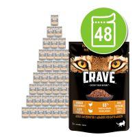 Lot Crave 48 x 85 g pour chat