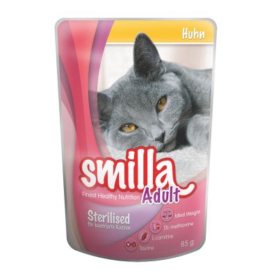 Lot découverte Smilla Sterilised pour chat