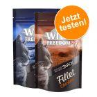 Lot découverte : Wild Freedom Filets pour chat 2 x 100 g