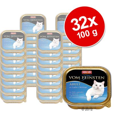Lot de barquettes Animonda vom Feinsten Mare 32 x 100 g