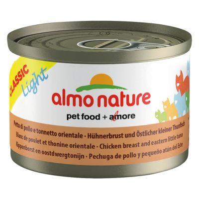 Lot de boîtes Almo Nature Light 24 x 50 g  pour chat