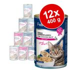 Lot de boîtes Feline Porta 21, 12 x 400g pour chat