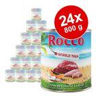 Lot de boîtes Rocco Tour du monde, Jamaïque, 24 x 800 g