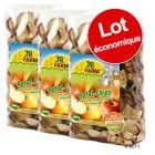 Lot de chips de pomme pour rongeur JR Farm