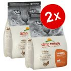 Lot de croquettes pour chat Almo Nature Holistic 2 x 2 kg