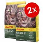 Lot de croquettes pour chat Josera 2 x 10 kg