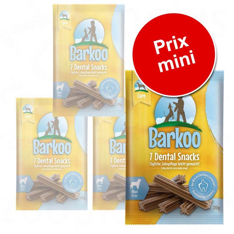 Lot de friandises Barkoo Dental Snacks