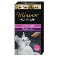 Lot de pâtes Miamor Cat Snack pour chat