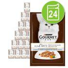 Lot de sachets Gourmet À la Carte  24 x 85 g