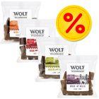 Lot de 4 saveurs Wolf of Wilderness Bouchées