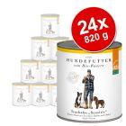 Lot Defu Bio Sensitive 24 x 820 g pour chien