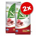 Lot Farmina N&D 2 x 5 kg pour chat