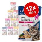 Lot Feline Porta 21 en sachets fraîcheur 12 x 100 g pour chat